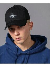 カルバン・クライン Calvin Klein (M)カルバン クライン 【カルバン クライン ジーンズ】 モノグラム CK ロゴ キャップ HX0210C9400 カルバン・クライン 帽子/ヘア小物 キャップ ブラック ホワイト ネイビー【送料無料】