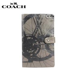 コーチ 手帳 コーチ COACH メンズ 手帳 ノートブック F61069 グレー ブラック