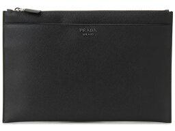 セカンドバッグ プラダ PRADA クラッチバッグ 2NG001-2FAD-F0002 SAFFIANO ブラック ビジネスバッグ/セカンドバッグ