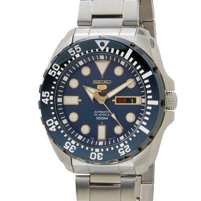 セイコー SEIKO セイコーファイブ SEIKO5 SRP605K1 SPORTS Automatic スポーツ 自動巻き ブルー メンズ 腕時計 新品