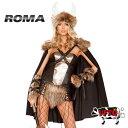 バイキングハット コスプレ 衣装 ROMA COSTUME ローマ RM4892 バイキング 4点セット 正規品