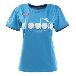 ディアドラ ディアドラ(diadora) レディース ロゴトップシャツ DTP0543-60 【 半袖シャツ テニス バドミントン ウェア 】 (レディース)