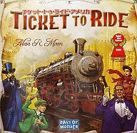 チケットトゥライド 【新品】ボードゲーム チケット・トゥ・ライド アメリカ 日本語版 (Ticket to Ride)