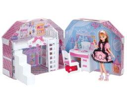 リカちゃん 楽しく遊べる玩具・着せ替え人形 リカちゃん人形 リカちゃんハウス すてきなリカちゃんのおへや ※人形・ランドセルは別売です 〈大人・子供向けおもちゃ 女の子向け コレクション きせかえ人形 ファッションドール 香山リカ 洋服 衣装 着替え〉