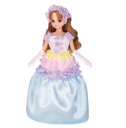 リカちゃん 玩具 楽しく遊べるおもちゃ・着せ替え人形 リカちゃん人形 ドール LD-04 虹色プリンセス 〈大人・子供向けおもちゃ 女の子向け ごっこ遊び コレクション きせかえ人形 ファッションドール 香山リカ Licca-chan 洋服 衣装 着替え〉