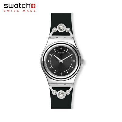 【公式ストア】Swatch スウォッチ QUEEN'S FASHION クイーンズファッション YLS462irony(アイロニー) Irony Medium(アイロニーミディアム) 【送料無料】(素材)ベルト:ゴム製 ケース:ステンレススチールレディース 腕時計 人気 定番 プレゼント