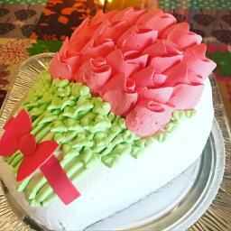 還暦 バラの花束3D立体型ケーキ スイーツ プチギフト 誕生日 バースデー ケーキ パーティ サプライズ キャラクターケーキ 敬老の日 還暦 お祝い 結婚記念日 鳥取県