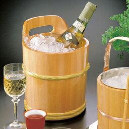 木製ワインクーラー 椹ワインクーラー   日本製/木/木製/ワイングッズ/冷酒クーラー/業務用/酒の器/酒器