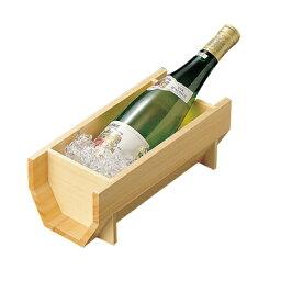 木製ワインクーラー 白木ワインクーラー   日本製/木/木製/ワイングッズ/冷酒クーラー/業務用/酒の器/酒器