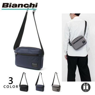 [新作/公式] ビアンキ ミニ ショルダー バッグ メンズ レディース 軽量 撥水 軽い 小さめ Bianchi TBNY-03 父の日 プレゼント ギフト