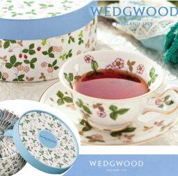 ウェッジウッドの紅茶ギフト WEDGWOOD ウェッジウッド紅茶ワイルドストロベリー ティーバッグセット ご挨拶 ギフト 出産内祝い 入学内祝い 新築内祝い 快気祝い 結婚内祝い 内祝い お返し 香典返し