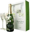 グラス付きワインのギフト ペリエ・ジュエ ベル・エポック グラス付きセット [2008] <白> <ワイン/シャンパン>