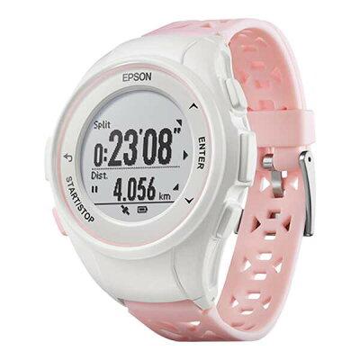 【エプソン】 WristableGPS(リスタブルGPS) Q-10P GPSウォッチ [カラー:ピンク] #Q10P 【スポーツ・アウトドア:ジョギング・マラソン:ギア】【EPSON】