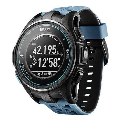 【全品ポイント10倍(要エントリー) 1ヶ月限定】 【送料無料】 WristableGPS(リスタブルGPS) J-300T 脈拍計測機能搭載GPSウォッチ [カラー:ターコイズブルー] #J300T 【エプソン: スポーツ・アウトドア ジョギング・マラソン ギア】【EPSON】