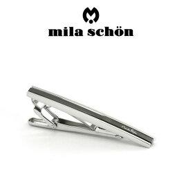 ミラショーン(ネクタイピン) 【mila schon】ミラショーン ネクタイピン 専用ボックス付き ブラックメッキ MST8337