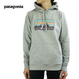 パタゴニア パタゴニア Patagoniaレディース パーカーWOMENS SOLAR RAYS73 AHNYA HOODIEウィメンズ プルオーバーパーカーDRIFTER GREY(ドリフターグレー)トップス 灰色 杢 ロゴ