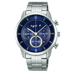 アニエス 腕時計 agnes b. HOMME アニエスベー ソーラー クロノグラフ 腕時計 メンズ FBRD980 【送料無料】【代引き手数料無料】
