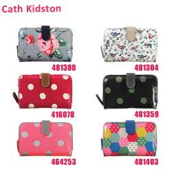 11e7b7186e28 キャスキッドソン Cath Kidston(キャスキッドソン) 二つ折り財布 小銭入れ付き ラウンドファスナー