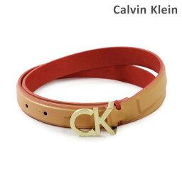 カルバンクライン ベルト(レディース) カルバンクライン ベルト Calvin Klein K60K604154 レディース レザー 230 ベージュ 海外正規品 【送料無料(※北海道・沖縄は1,000円)】