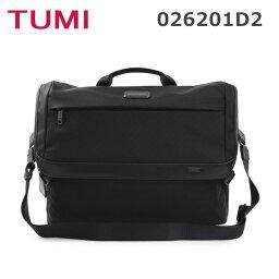 ショルダーバッグ TUMI メッセンジャーバッグ トゥミ 026201D2 ショルダーバッグ ブラック 黒 メンズ Messenger 18SS 【送料無料(※北海道・沖縄は1,000円)】