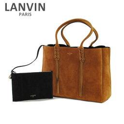 トートバッグ LANVIN PARIS (ランバン パリス) Shopper Tote Bag トートバッグ LW-BGESS2-SOTY-E17 99 RUGGINE レディース ショルダーバッグ 2017SS 【送料無料(※北海道・沖縄は1,000円)】