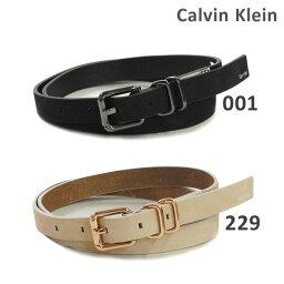 カルバンクライン ベルト(レディース) カルバンクライン ベルト Calvin Klein K60K602453 001 ブラック 229 ベージュ レディース レザー 海外正規品 2017SS 【送料無料(※北海道・沖縄は1,000円)】
