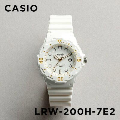 【並行輸入品】【10年保証】CASIO SPORTS ANALOGUE LADYS カシオ スポーツ アナログ レディース LRW-200H-7E2 腕時計 キッズ 子供 女の子 チープカシオ チプカシ プチプラ 防水 ホワイト 白 ゴールド 金