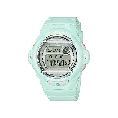 【並行輸入品】【10年保証】CASIO BABY-G カシオ ベビーG BG-169R-3 腕時計 レディース キッズ 子供 女の子 アナデジ 防水 グリーン 緑 シルバー 海外モデル