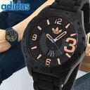 アディダス 腕時計 【送料無料】adidas アディダス originals オリジナルス NEWBURGH ニューバーグ メンズ 腕時計 ウォッチ 防水 カジュアル 黒 ブラック 金 ピンクゴールド ローズゴールド ADH3082 誕生日プレゼント 男性 ギフト