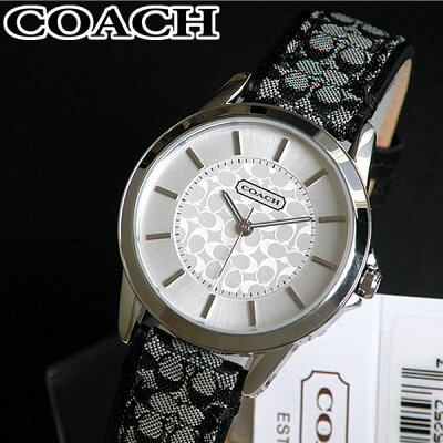 d7e50e9cf72a 【送料無料】COACH コーチ 14501524 Classic Signature クラシックシグネチャー レディース 腕時計 時計 ブランド レザー