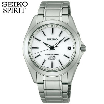 セイコー セレクション スピリット 腕時計 SEIKO SELECTION SPIRIT メンズ 電波ソーラー ソーラー チタン SBTM213 国内正規品 ウォッチ メタル バンド 白 ホワイト 誕生日プレゼント 男性 ギフト