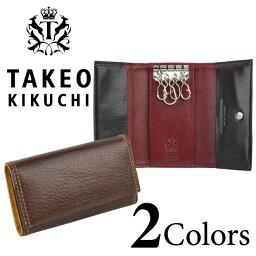 タケオキクチ タケオキクチ キーケース TAKEO KIKUCHI ソフトアンティーク メンズ 牛革 tk506533【送料無料】