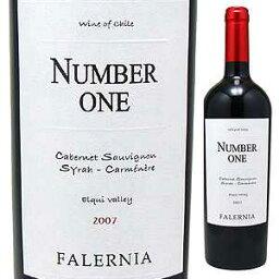 チリワイン 【6本〜送料無料】ナンバー ワン 2012 ヴィーニャ ファレルニア 750ml [赤]Number One Vi a Falernia