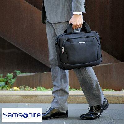 Samsonite サムソナイト スモールビジネスバッグ XENON3 Laptop Shuttle 13 cp257 89440-1041 cp257 男性用 メンズ ブリーフケース バリスティックナイロン A4 パソコン 13.3インチ 鞄 かばん バッグ 【あす楽対応】 【送料無料】