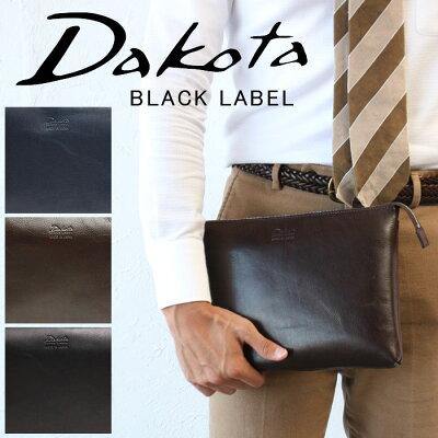 【今ならWプレゼント付】ダコタ バッグ クラッチバッグ ショルダーバッグ 2way 日本製 ブラックレーベル Dakota BLACK LABEL アクソリオ スマートショルダー サコッシュ スリム 本革 637635 斜め掛け メンズ 正規品 ギフト