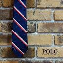 ラルフローレン ネクタイ Polo Ralph Lauren USOpen オフィシャルトリコロールストライプタイ ポロラルフローレン ネクタイ