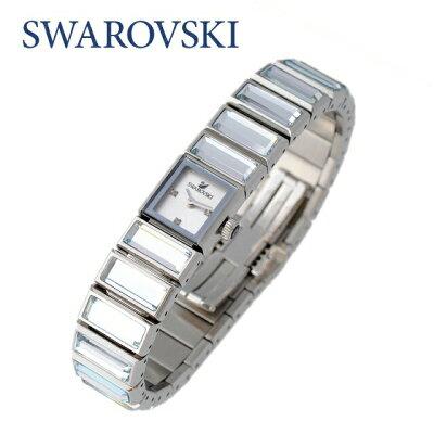 【訳あり】スワロフスキー 腕時計 SWAROVSKI BAGETTE 999984 クリスタル ガラス ステンレス ジュエリー アクセサリー レディース