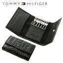 トミーヒルフィガー キーケース(メンズ) トミーヒルフィガー TOMMY HILFIGER キーケース 31TL17X016-001(0094-5646/01) ブラック (6キーホック) レザー(革) メンズ 男性 トミー シンプル ギフト
