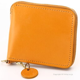 グレンロイヤル グレンロイヤル 財布 GLENROYAL 03-6156 GOLD ラウンドファスナー 小銭入れ付き 二つ折り財布 レザー財布