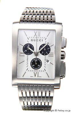 グッチ 時計 GUCCI YA086319 腕時計 メンズ シルバー×ブラック