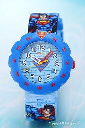 スウォッチ フリックフラック 腕時計(レディース) SWATCH スウォッチ 腕時計 Flik Flak(フリックフラック) Superman's Back In Town (スーパーマンズ バック イン タウン) ZFLSP004 【スウォッチ 時計】【あす楽】