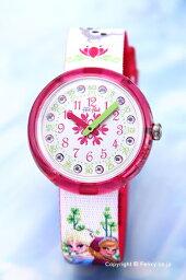 スウォッチ フリックフラック 腕時計(レディース) スウォッチ 腕時計 SWATCH FlikFlak(フリックフラック) ZFLNP019 DISNEY FROZEN ディズニー・アナと雪の女王 【あす楽】
