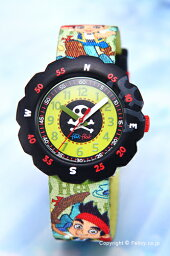スウォッチ フリックフラック 腕時計(レディース) スウォッチ 腕時計 SWATCH FlikFlak(フリックフラック) ZFLSP005 ディズニー ジェイクとネバーランドのかいぞくたち 【あす楽】
