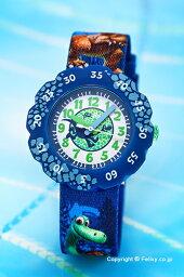 スウォッチ フリックフラック 腕時計(レディース) スウォッチ 腕時計 SWATCH FlikFlak(フリックフラック) ZFLSP010 ディズニー DISNEY THE GOOD DINOSAUR 【あす楽】