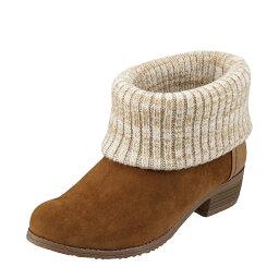 セダ―クレスト セダークレスト オレンジスター CEDAR CREST ブーツ CC-2716 レディース 靴 靴 シューズ 2E相当 ショートブーツ カジュアル 抗菌 防臭 ニット かわいい おしゃれ 大きいサイズ対応 25.0cm 25.5cm キャメル TSRC