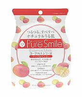 ヨーグルト サンスマイル Pure Smile ピュアスマイル エッセンスマスク ヨーグルトシリーズ アップルマンゴー PS-YG003 (1枚入) フェイスマスク ツルハドラッグ