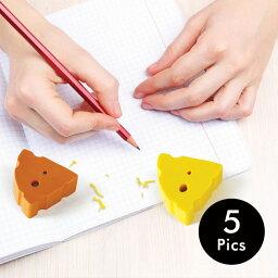 チーズの消しゴム 5個セット 消しゴム 食べ物 チーズ 文房具 おしゃれ MARSMERS CHEESE ERASERS 5P SET