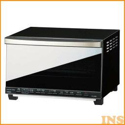 ツインバード ツインバード(TWINBIRD) ノンフライオーブン TS-D067B ブラック (オーブントースター/ミラーガラス/レシピ付)