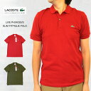 LACOSTE LIVE ラコステ ライブ PH2403 S/S SLIM FIT PIQUE POLO スリムフィット ピケ(鹿の子)ポロシャツ LACOSTE LIVE ラコステ ライブ PH2403 スリムフィット ピケ(鹿の子)ポロシャツ