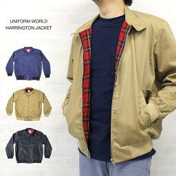 ユニフ ユニフォームワールド UNIFORM WORLD HARRINGTON JACKET ハリントンジャケット MADE IN ENGLAND